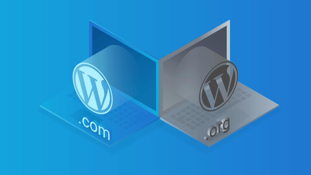 Diferença entre WordPress org e wordpress com