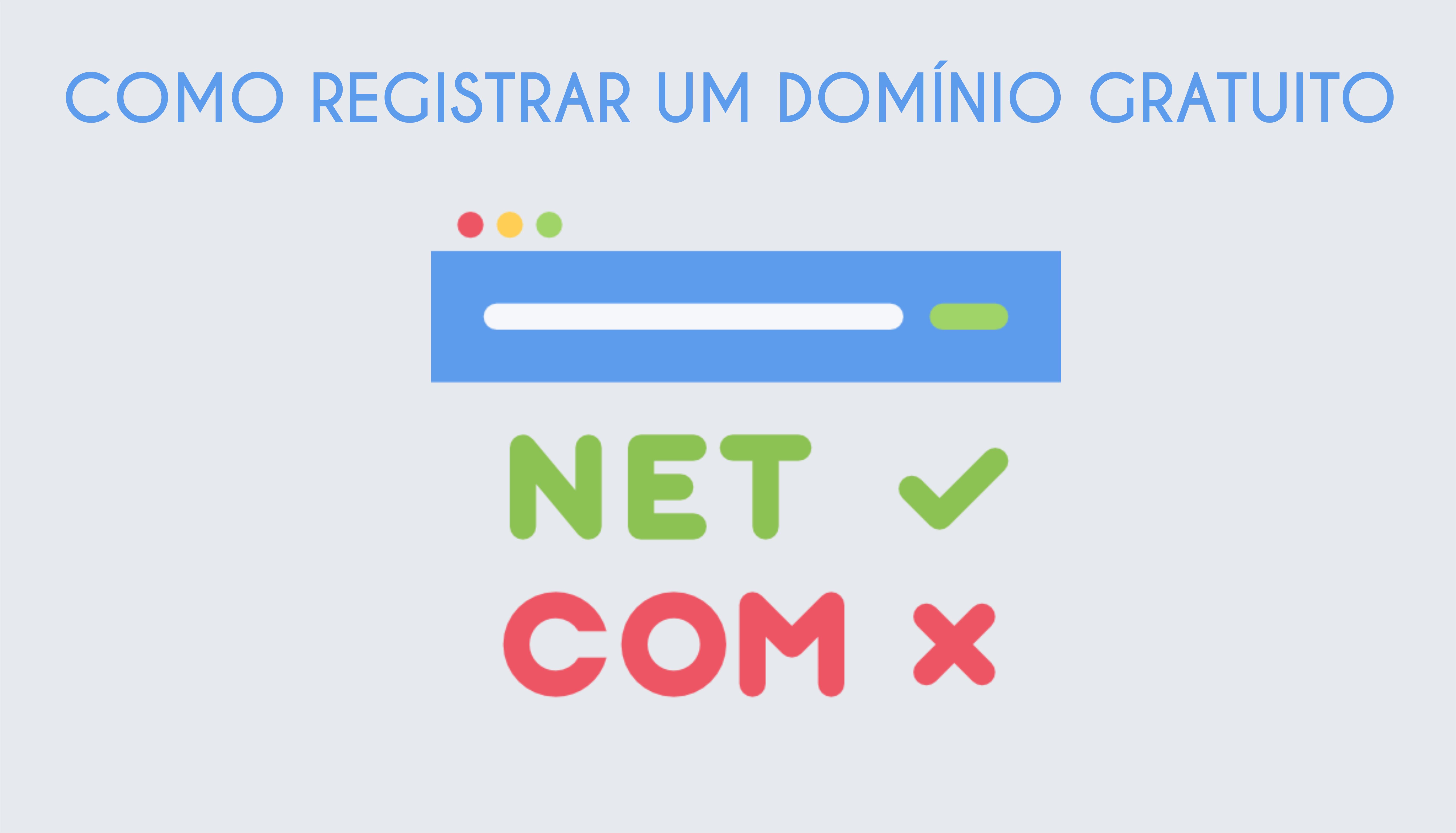 Como Registrar um domínio Gratuito facil