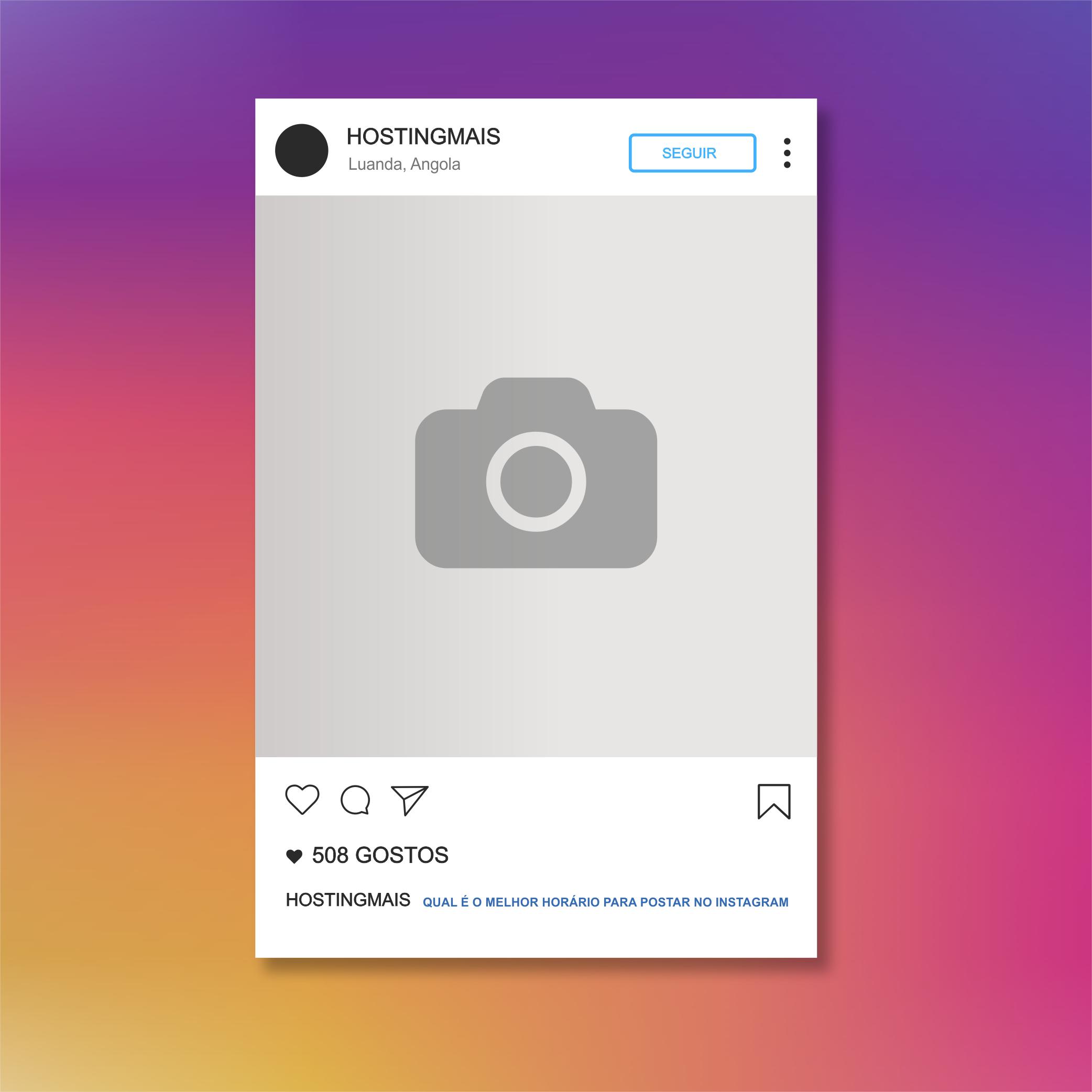 Qual é o melhor Horário para postar no Instagram ?